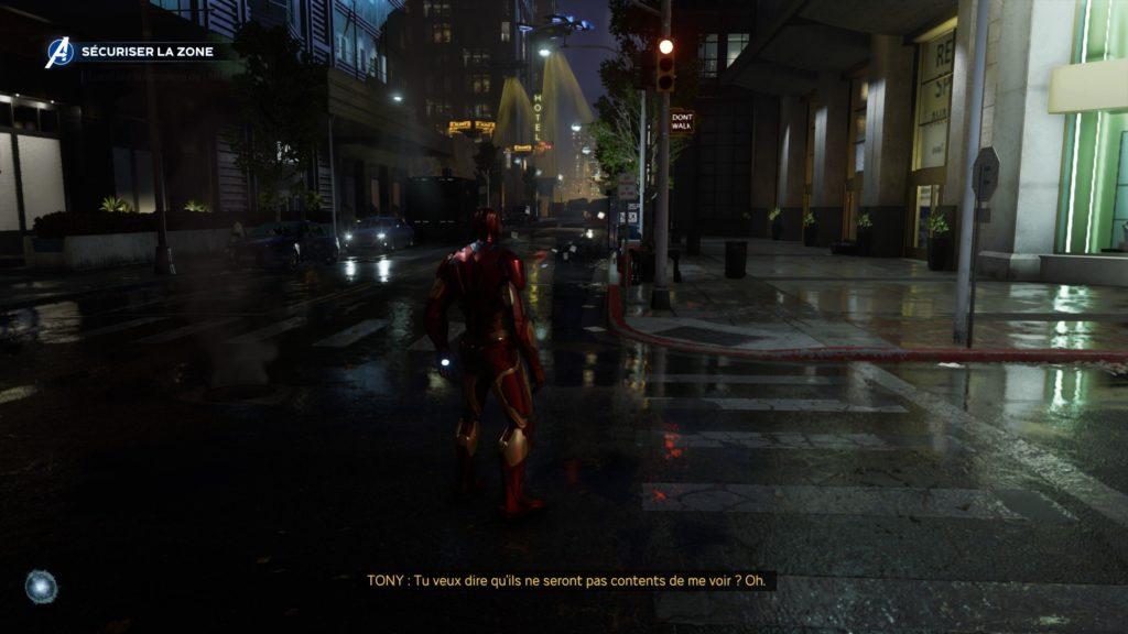 marvel's avngers - iron man