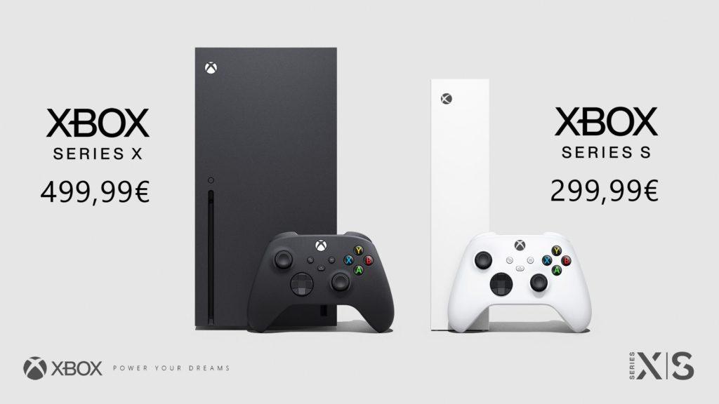 xbox series s/x prix next-gen