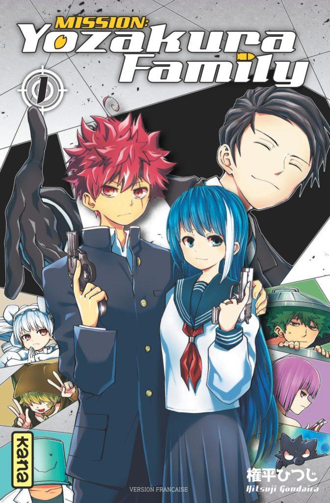 mission yozakura family cover tome 1