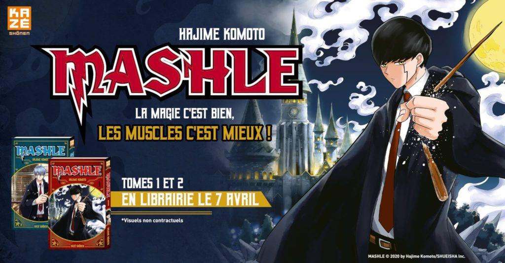 mashle affiche