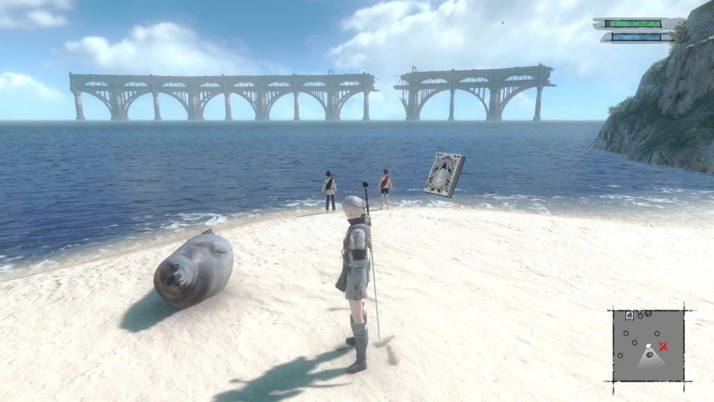 nier replicant screenshot