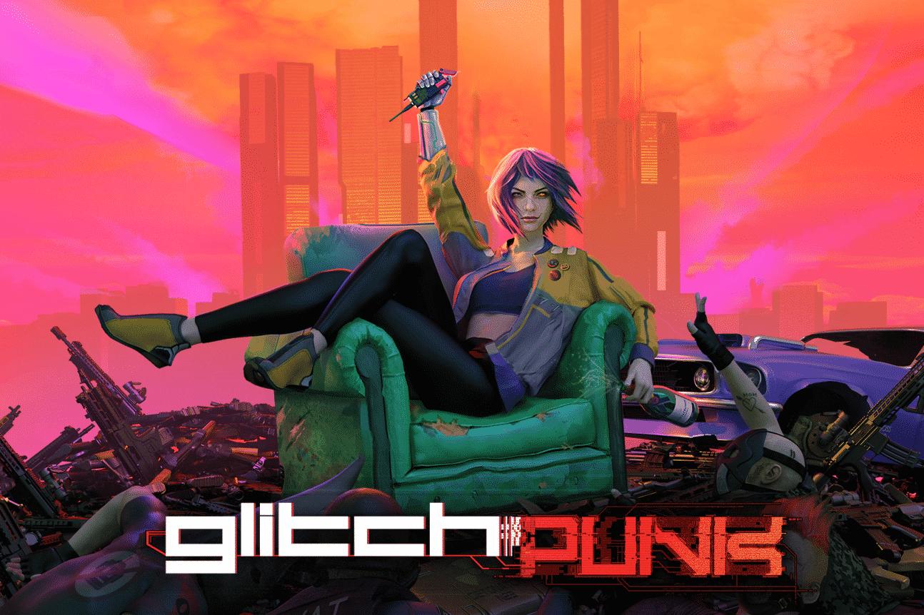 glitchpunk affiche